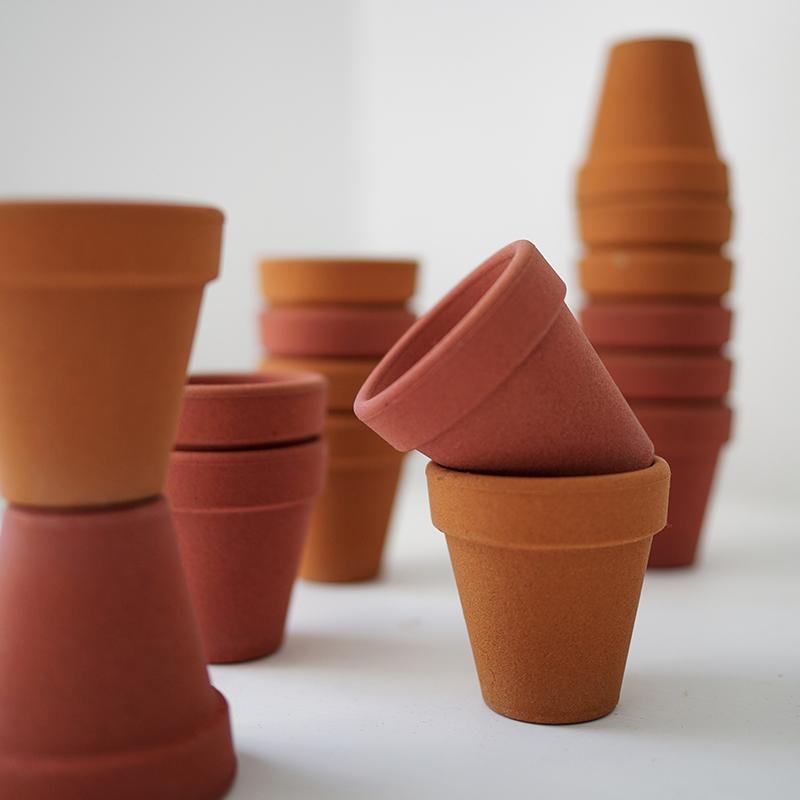 niceone北欧设计款沙土透气花盆 家居装饰多肉植物盆新品