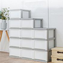 日本爱丽思 五层7抽屉式收纳柜 塑料加厚夹缝柜缝隙窄柜子MCD325