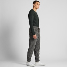 Men's fleece elastic pants 421413 UNIQLO