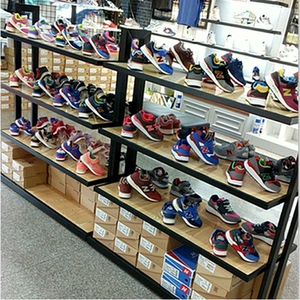 Shopping mall shoe rack display shoe store shoe rack display rack Nakajima shoe cabinet bag rack children shoes shoes display rack rack