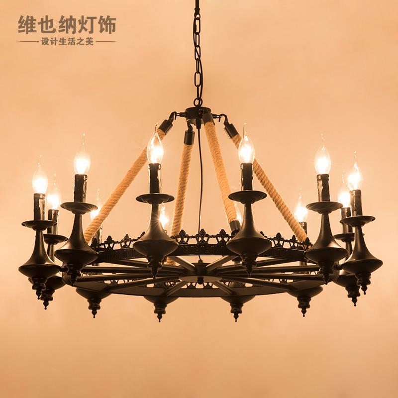 工业风 客厅 吊灯