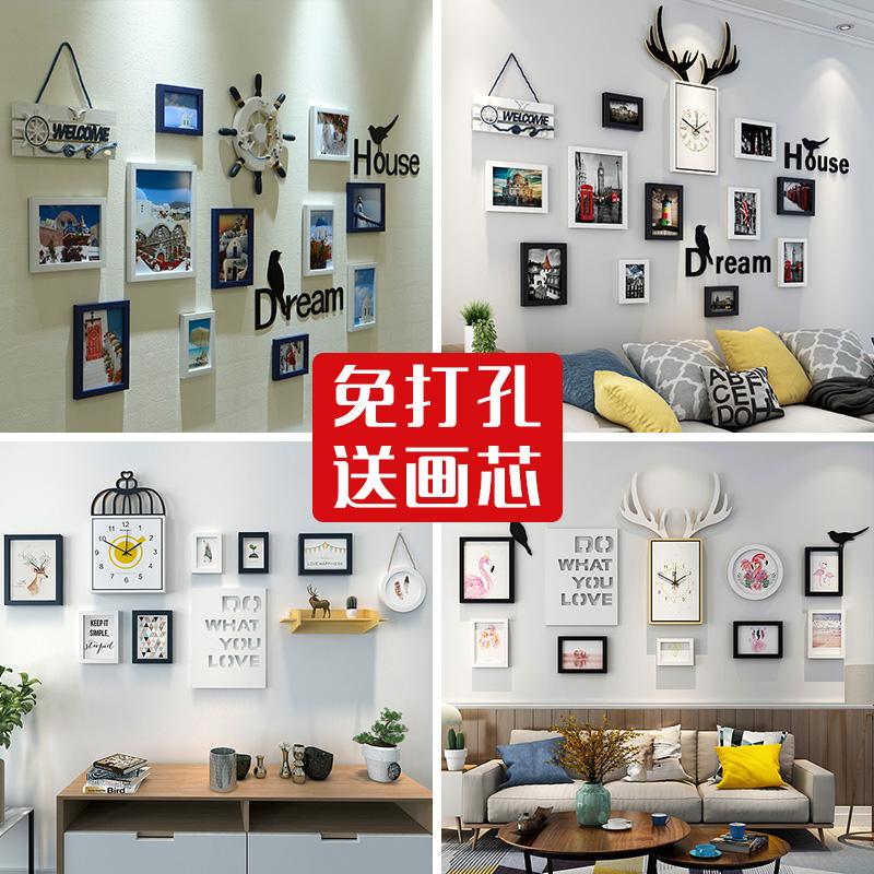 创意客厅餐厅背景墙面挂饰墙饰卧室内房间挂墙上墙壁挂件家装饰品