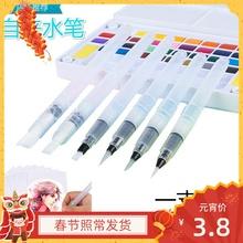一支包邮固体水彩水粉颜se8专用  os按压水彩水粉笔刷