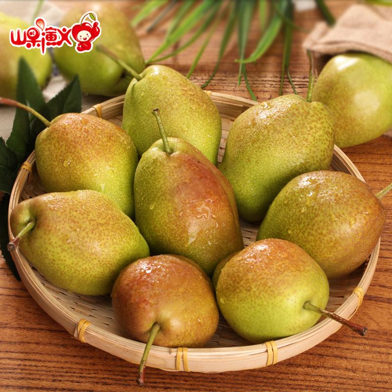 【买1送1共5斤】当季陕西大荔香梨 新鲜水果梨子酥梨