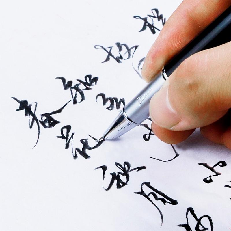 毕加索钢笔916美工弯头弯尖成人钢笔练字专用学生用硬笔书法男士女商务高档签名速写官方旗舰店正品刻字