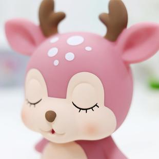 生日礼物存钱罐可存可取女孩网红创意可爱儿童粉色纸币储蓄罐男孩