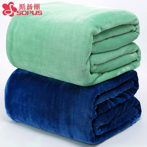 Blanket Single Thick Coral Fleece Cover Office Siesta Blanket Student Towel Quilt Blanket Flannel Sheets