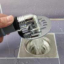 潜水艇洗衣机地漏盖板专用接头下水管防臭盖防溢水排水管两用三通