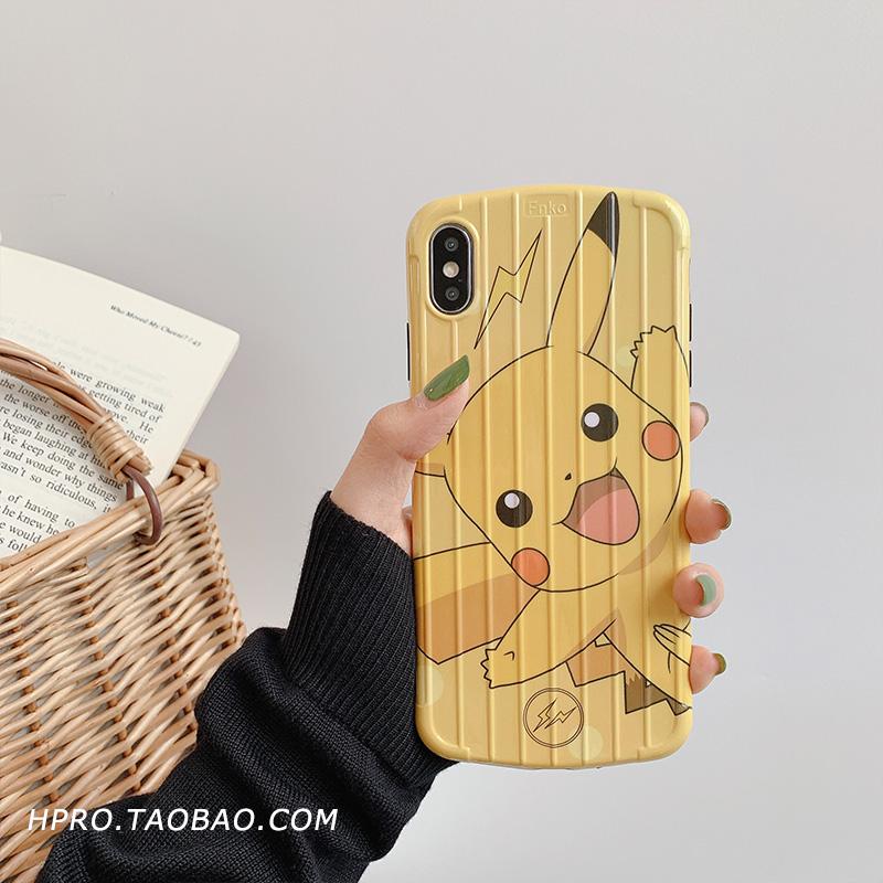 潮牌防摔软壳8plus苹果x手机壳xs max/xr/iphonex/7p/6女iphone6s