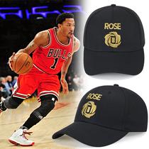 罗斯帽子NBA帽子球星同款库里欧文哈登詹姆斯科比球队夏季棒球帽