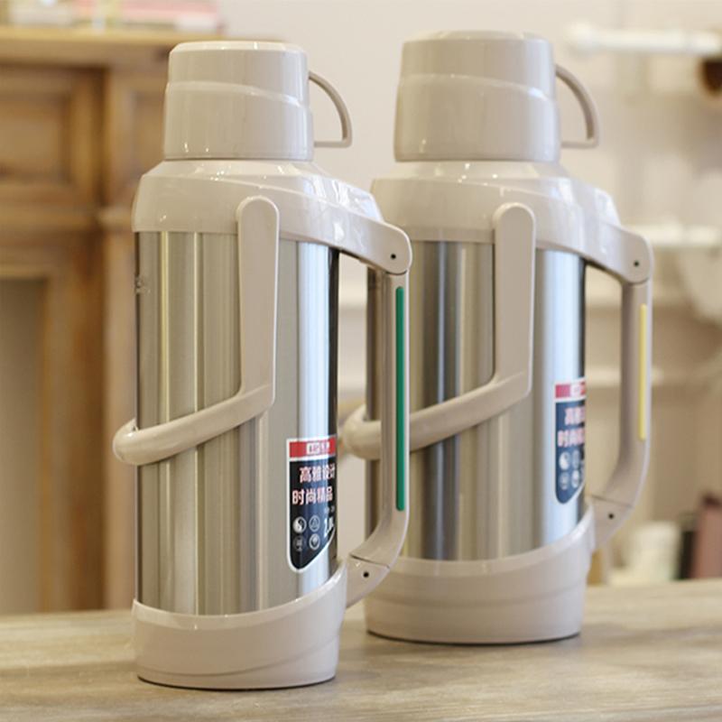 乐狮热水瓶不锈钢家用保温壶大容量茶瓶暖壶学生用宿舍水壶开水瓶