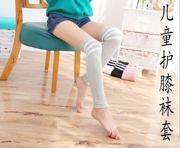 儿童长筒袜春秋过膝袜套纯棉韩版女童护膝舞蹈保暖学生膝盖袜腿套