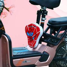 电动车ch0童前置座in自行车山地车儿童前置座椅宝宝安全座椅