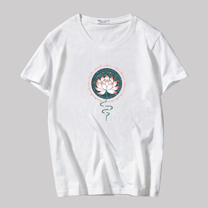 Summer short-sleeved t-shirt men's cotton trend Korean version of the half-sleeved body repair loose men's clothing on the students