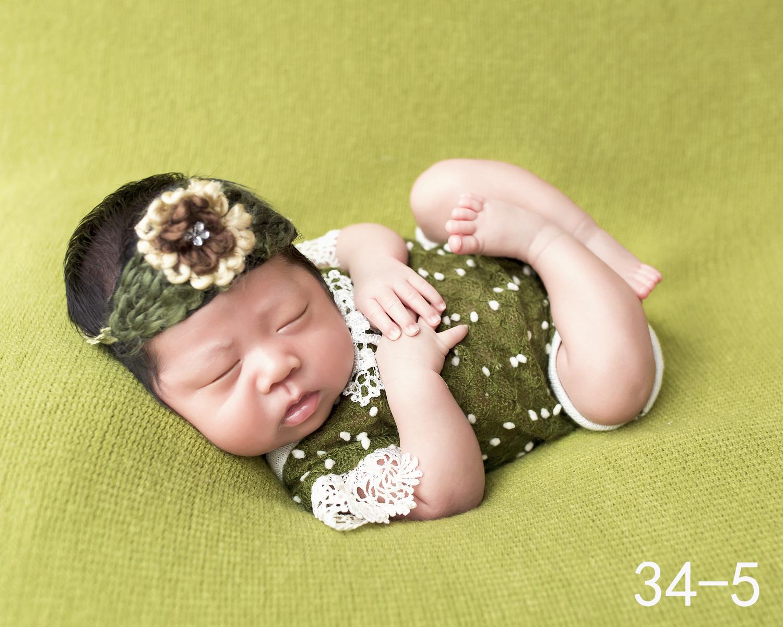 展会儿童百天摄影服装婴幼儿写真拍照造型影楼拍摄创意服装睡袋