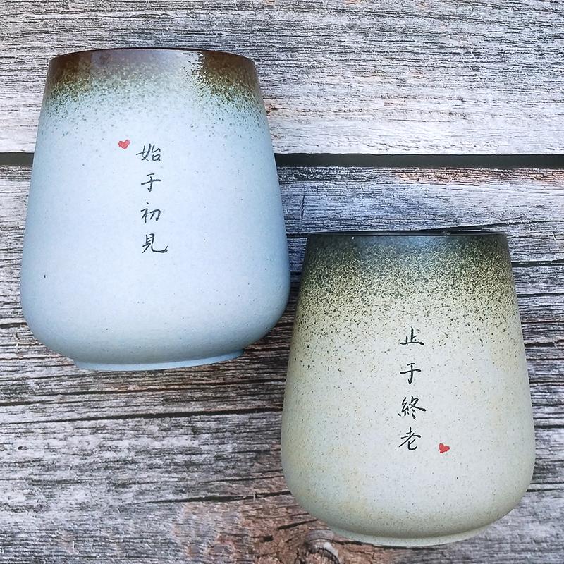 情侣礼物杯子一对结婚高档纪念品新婚送新人礼盒装实用定制有意义