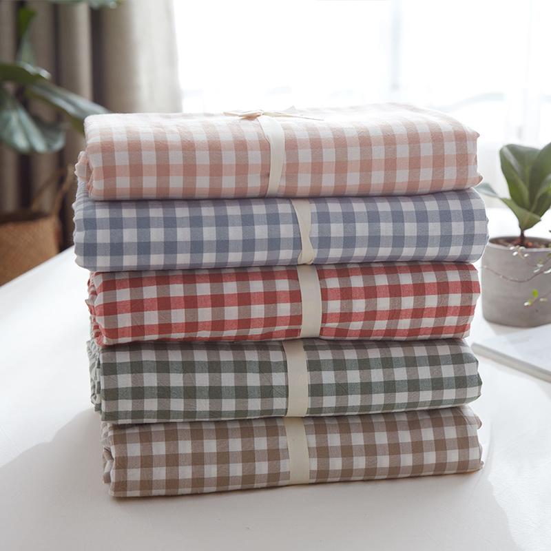 纯棉水洗棉被套单件单人1.5m1.8米床双人200x230宿舍100%全棉被罩