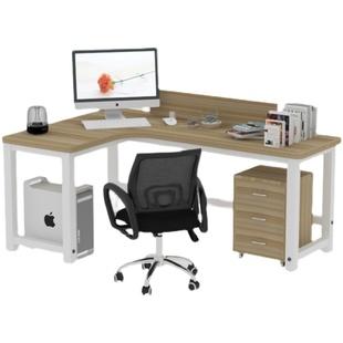 职员屏风台式转角l型卧室t办公桌