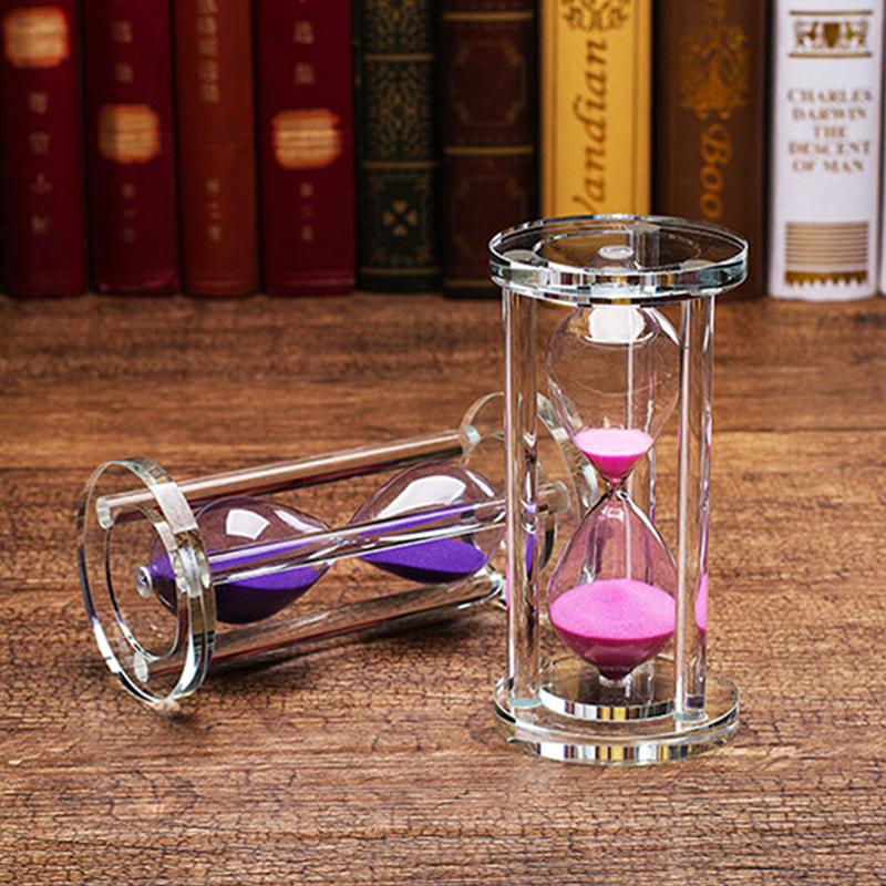水晶摆件结婚新婚闺蜜生日礼物装饰品时间沙漏计时器创意个性礼品