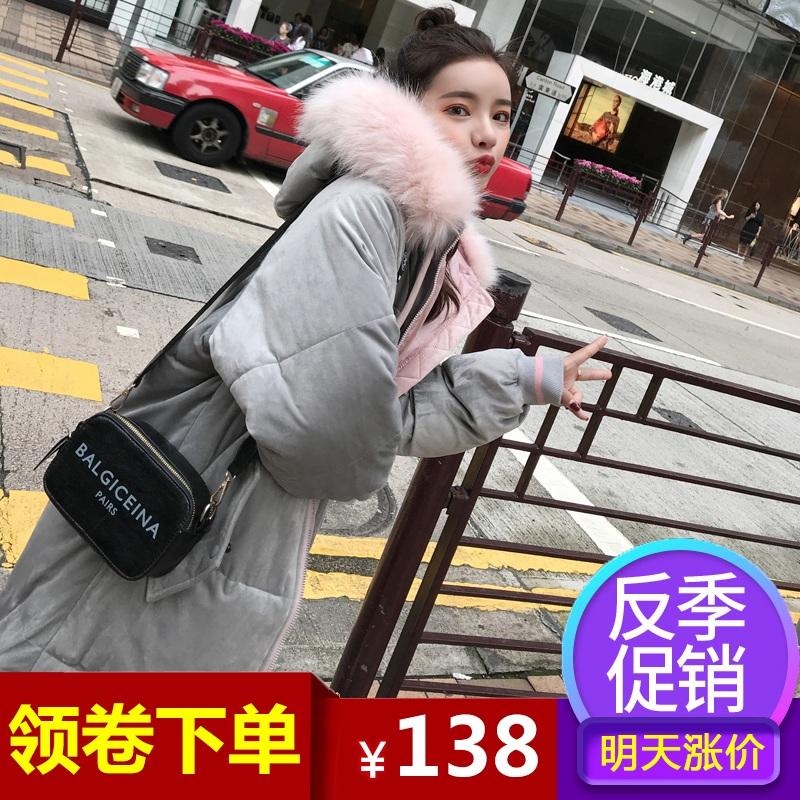 反季棉袄女2018新款羽绒棉服oversize韩版ins面包服棉衣冬季外套
