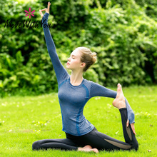 Yoga Suit for Female Beginners 2009 New Autumn-Winter Large-Scale Sports Yoga Suit Professional Temperament Yoga Suit