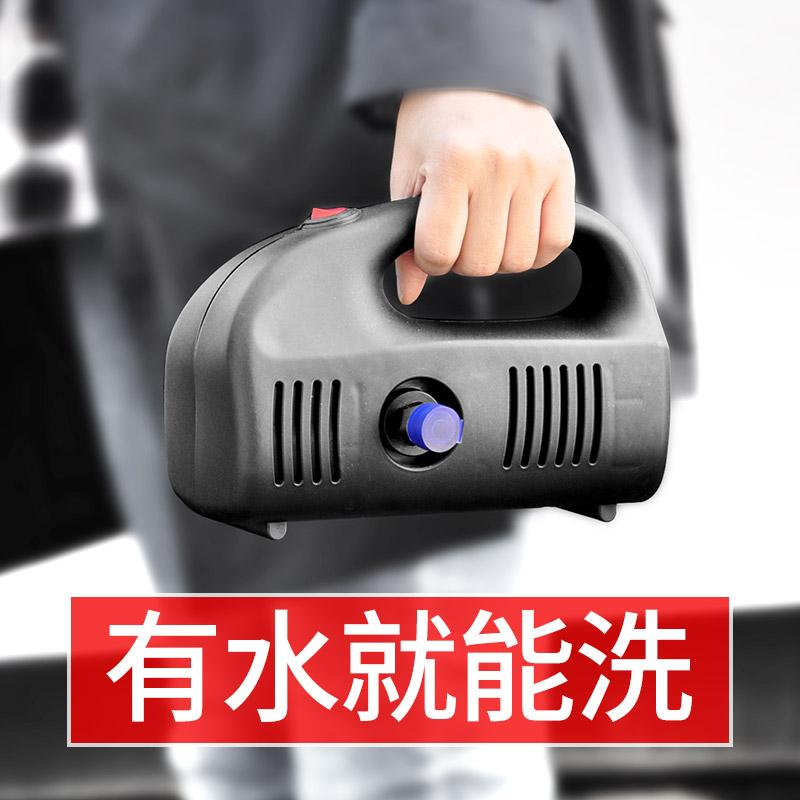 洗车神器高压家用洗车机12V便携洗车器车载水泵刷车清洗机洗车泵