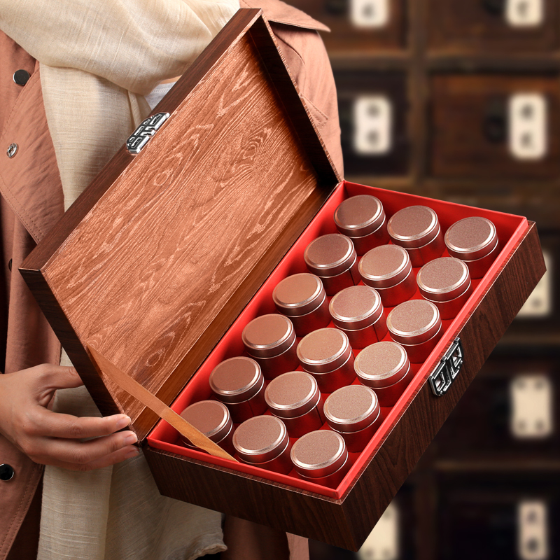 小青柑橘普柑橘宫廷普洱茶桔普茶新会陈皮熟茶小罐装茶叶礼盒装