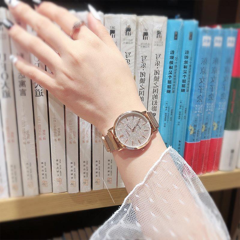 '满天星手表法国轻奢小众女表品牌明星同款女时尚2019流行款潮流