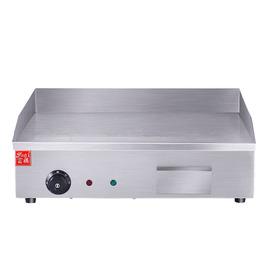 富祺商用电热平扒炉 EG818铁板烧趴炉煎烤手抓饼烤冷面台式平扒炉