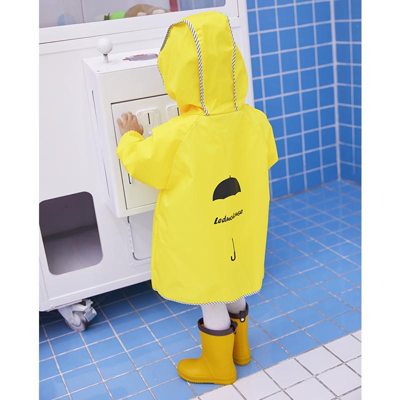 儿童雨衣雨鞋套装 男童女童四季雨靴宝宝中小学生防滑胶鞋水鞋