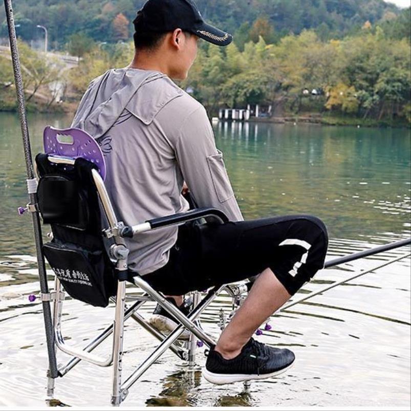 。钓椅钓鱼椅子折叠便携加厚凳子2019新款多功能轻便台钓座椅