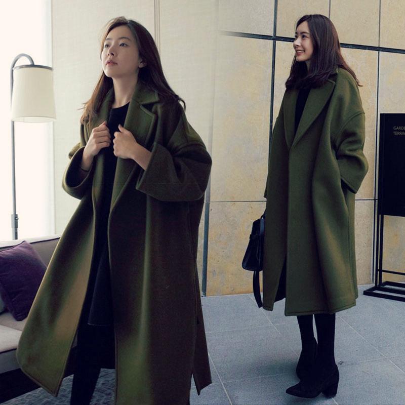 反季清仓双面羊绒呢子大衣女中长款秋冬2019新款流行妮子毛呢外套