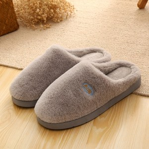 Men's shoes winter slippers sleeping household couple bottom cotton shoes shoes winter female thick soil indoor thickened dwelling hair removal