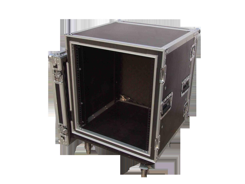 机柜调音台架子功放柜专业定做12U16U航空箱 机箱音响箱舞台设备