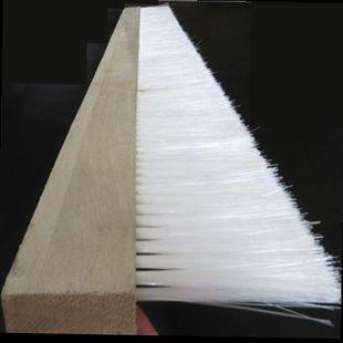 加长毛刷子1米长1.2米排刷防水大排刷子机器工业用8公分木板条刷