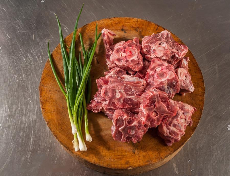 新鲜羊蝎子5斤 多肉羊脖骨 送火锅料 新鲜食材清真羊肉 包邮