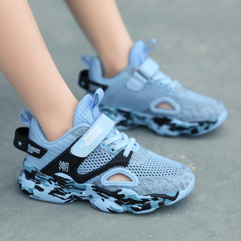 ABC男童鞋子2020新款春夏季镂空透气网面网鞋儿童运动鞋夏款单鞋