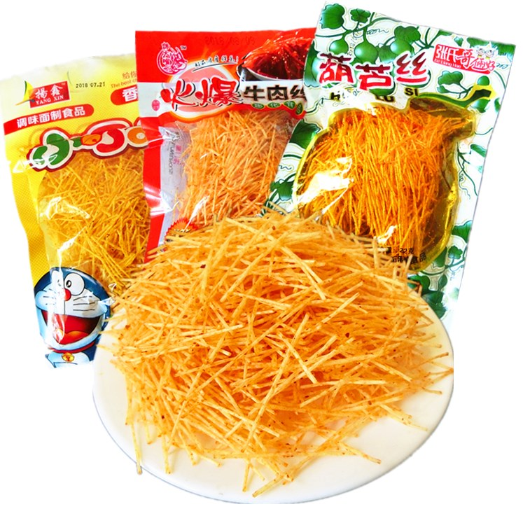 葫芦丝霸丝辣条麻辣自选童年怀旧小时候的零食8090后校园5毛钱