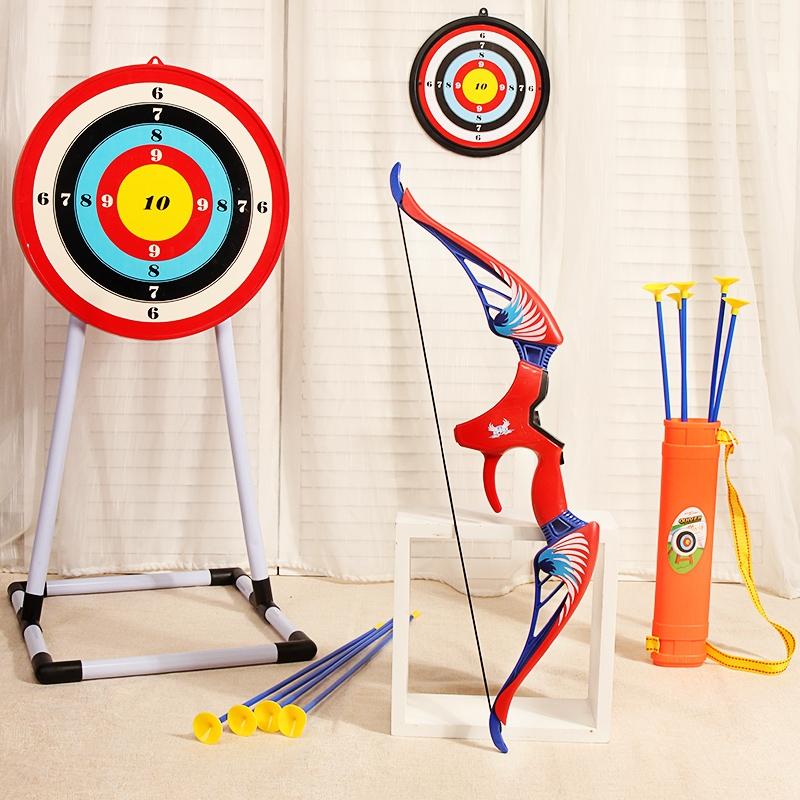 嘉爱弓箭儿童射箭玩具套装射击全套反曲吸盘道具入门男孩女孩大童