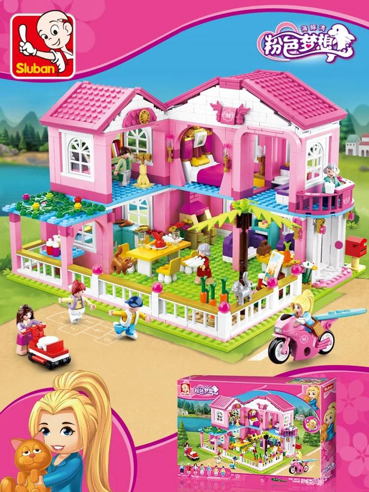 高难度乐高积木女孩子系列公主梦拼装女生6益智8玩具10岁12以上14