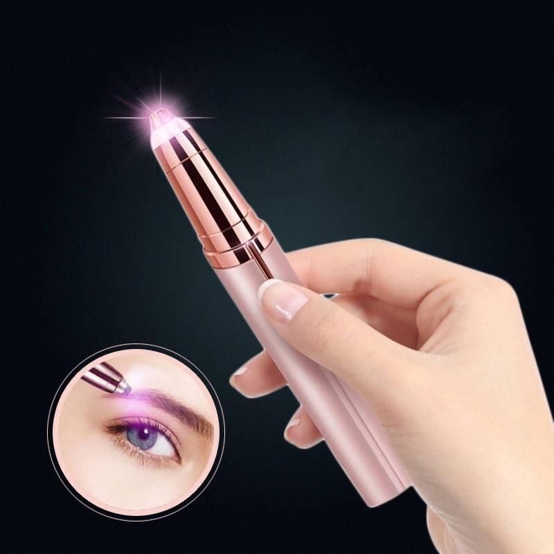 抖音同款电动修眉神器男女自动修眉刀套装初学者无痛刮修眉毛仪器