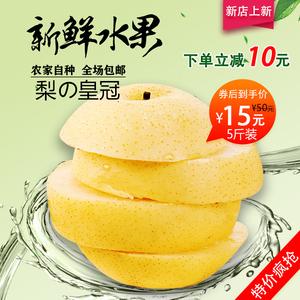 Hebei crown pear duck pear fruit alley fresh fruit FCL 5 kg