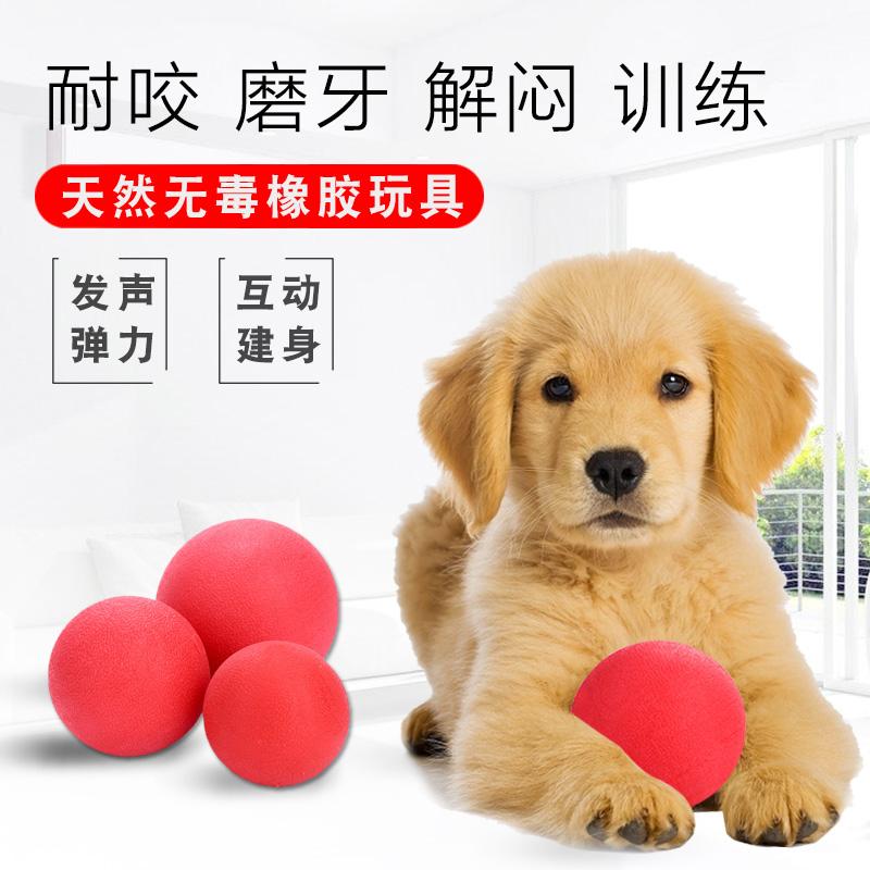 狗狗玩具耐咬球金毛弹力球大狗球训练狗咬的大型犬发泄磨牙棒宠物