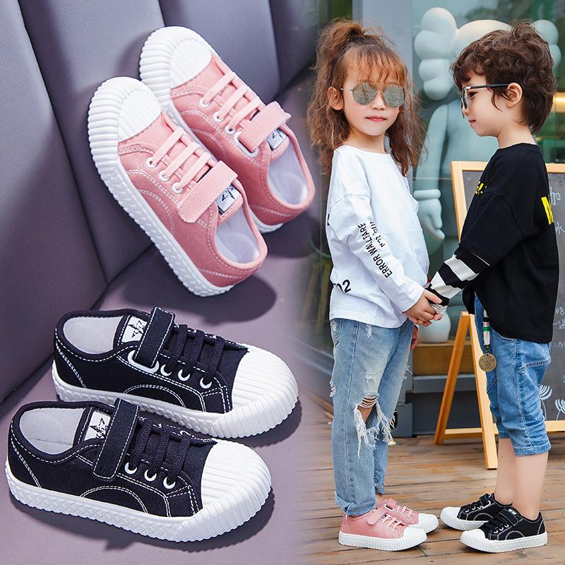 儿童饼干鞋女童男童老爹鞋2020爆款秋款网红时髦中大童男孩运动鞋