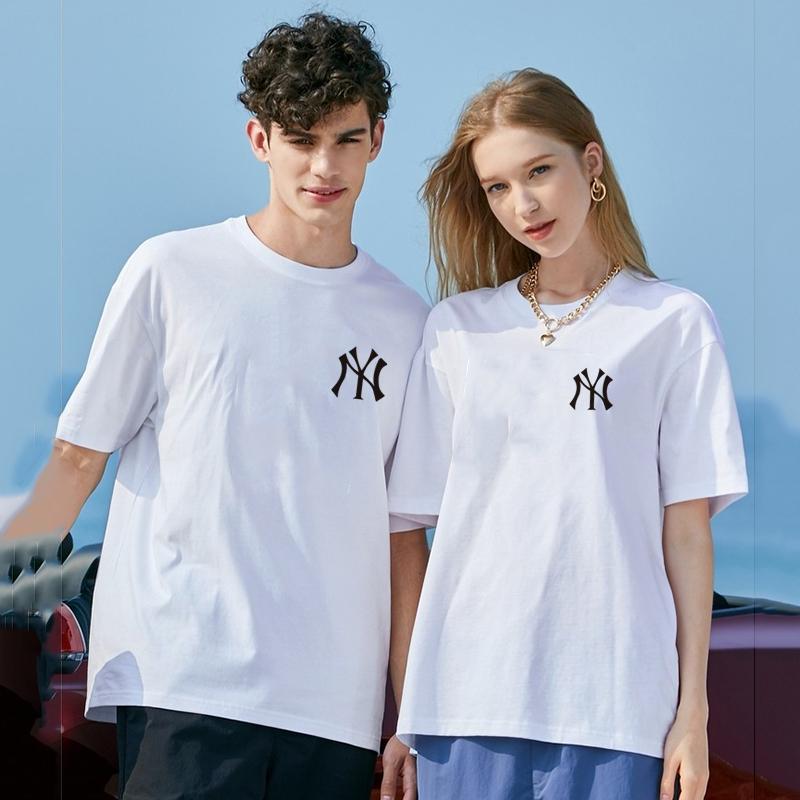 男女明星同款短袖纯棉t恤2020新款潮流打底衫百搭宽松情侣装上衣