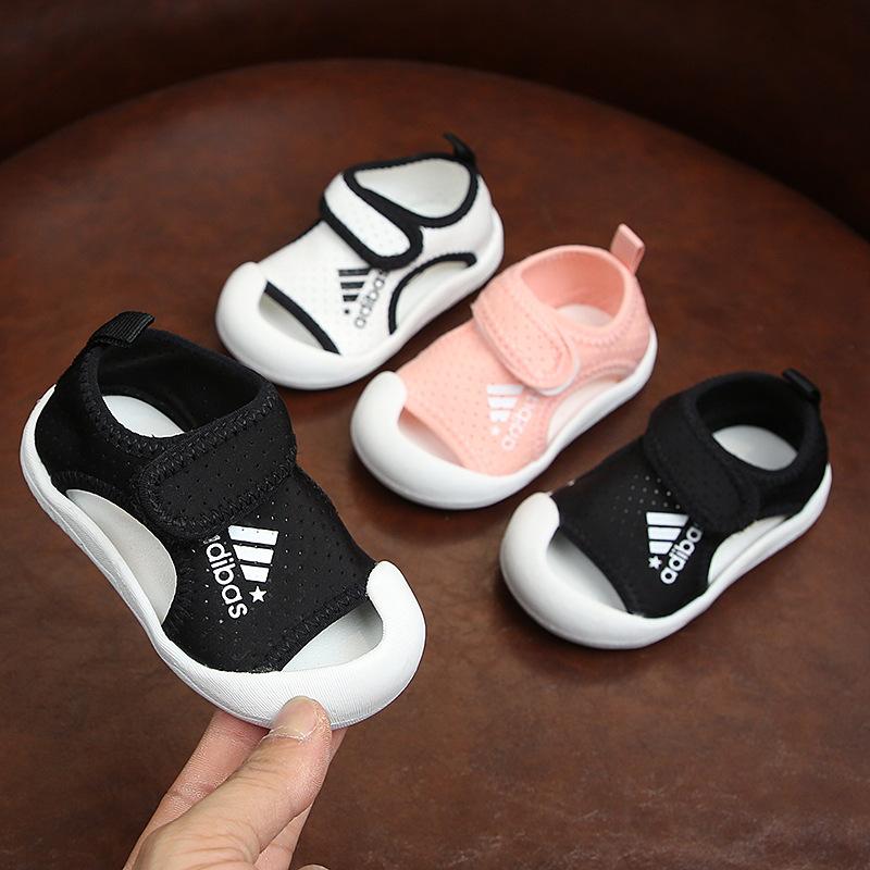 2020夏季新款宝宝学步鞋子男女小童透气网面鞋韩版软底防滑婴儿鞋