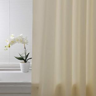 【米素】浴帘套装防水加厚防霉 卫生间浴室帘隔断帘 免打孔挂帘子