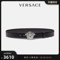 【秋冬】VERSACE/范思哲男士Palazzo美杜莎搭扣皮带腰带