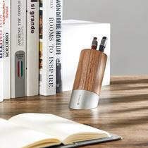 笔下文创 创意笔筒办公文具学生桌面收纳盒摆件多功能斜插式笔筒