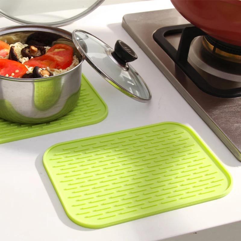 硅胶防烫防滑盘垫隔热垫大号锅垫加厚碗碟桌垫耐高温厨房家用餐垫